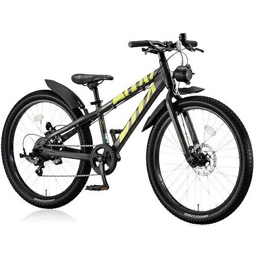 ブリヂストン BWX エリート BXE676 ガンメタリック/イエロー 26インチ ジュニアバイク【2016年モデル】【完全組立済自転車】