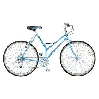 普利司通(普利司通)轉機運動G26 TSG268超級市場藍色折疊自行車