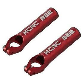KCNC バーエンド CNC BE2 115mm 6061AL レッド