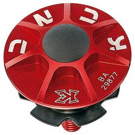 【キャッシュレス5%還元対象店】KCNC ヘッドセットパーツ SLアヘッドキャップセット 1-1/8 レッド