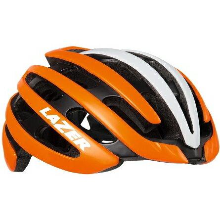 【送料無料】 LAZER(レイザー) サイクルヘルメット Z1 マットフラッシュオレンジ/ホワイト Sサイズ