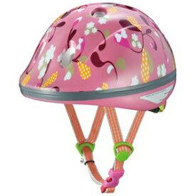 OGK KABUTO 子供用ヘルメット ピーチキッズ リーフピンク 47-51cm 【自転車用品】【メーカー純正品】【正規代理店品】