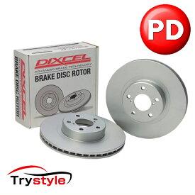 ディクセル PD0211097S 純正補修向けブレーキローター(ブレーキディスク) フロント用 ランドローバー ディスカバリー 等 防錆コーティングを施し純正+αの性能を実現!