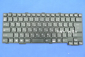 富士通 LIFEBOOK A574/M 全機種 A746/R 全機種 A746/P 全機種 日本語キーボード 黒 テンキーなしタイプ