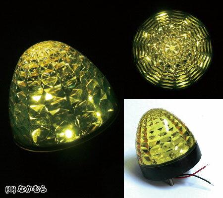 LEDクリスタルSマーカー 24V 黄色