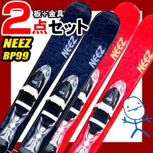 スキーボード NEEZ ニーズ 14-15 NEEZ BP-99 ブラック/レンジ 99cm ビンディング付き 初心者におすすめ 大人用 ファンスキー 【RCP】【メール便不可・宅配便配送】