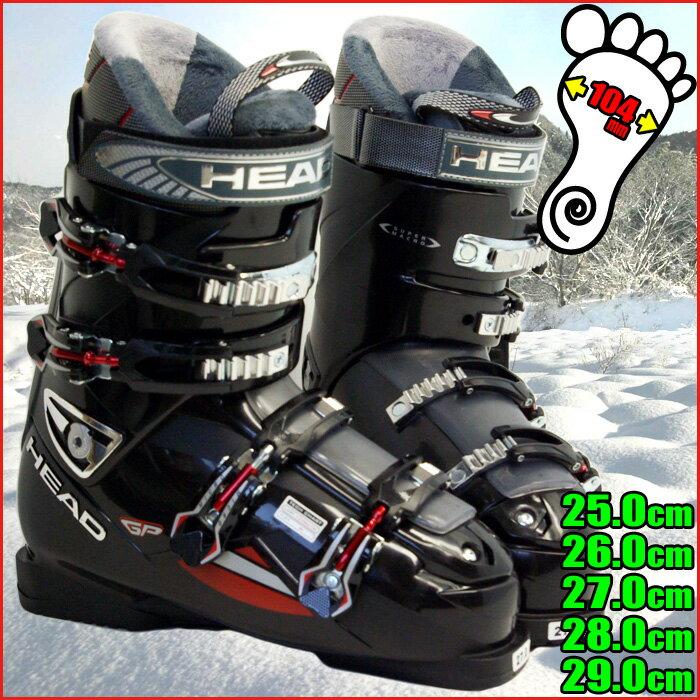 ヘッド スキーブーツ HEAD Edge GP BLACK-RED 6012291 メンズ 25.0/26.0/27.0/28.0/29.0【RCP】【メール便不可・宅配便配送】