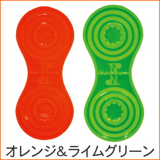 Extreme popularity! TNP reflector clip was replaced with a new one! TNP reflector clip ◆ TNPRMC13N ◇ orange & lime green fs3gm