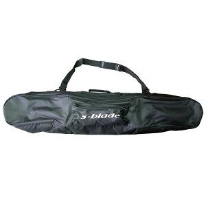 LASPEZIA スキーボードケース 100cmまで対応 収納バッグ SB-1 ブラック ショートスキー ファンスキー 【メール便不可・宅配便配送】