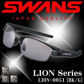SWANS LION-P LION-0051 BK/G ◇ LION series ◆ polarizing lens model ♪ swans sunglasses fs3gm