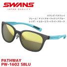 スワンズスポーツサングラスSWANSサングラスPATHWAYPW-1602SBLUレディースミラーレンズ【RCP】【楽天BOX・はこぽす】【はこぽす対応商品】