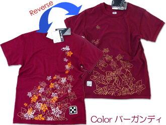 FIVE POINTS ★ Lady's reversible T-shirt S - L(FKJ-88012)