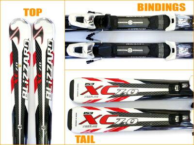 【スキー福袋】BLIZZARD★XC7.0IQ♪153・160・167cm♪金具&ストック&グローブ付【送料無料】