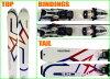 與兩個點集加藤雕刻滑雪板 K2 APACHE 特立獨行男裝儲物櫃白色 160 釐米