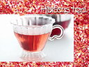 紅茶 フルーツティ「白桃&ローズ&ハイビスカス紅茶」(50g)白桃の香りとローズ&ハイビスカスの絶妙なブレンドhibiscus tea「白桃&ロ…