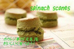 【さっくりふわっふわスコーン】ほうれん草スコーン3個セット:24時間かけておいしさ熟成!本場英国の手作りの味!