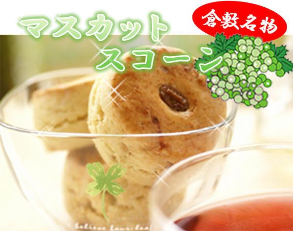 【さっくりふわっふわスコーン】マスカットスコーン3個セット:24時間かけておいしさ熟成!本場英国の手作りの味!