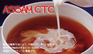 インド紅茶:2017年ASSAM CTC「アッサムCTC」(50g)煮出し(チャイ)向き紅茶【送料無料:メール便】