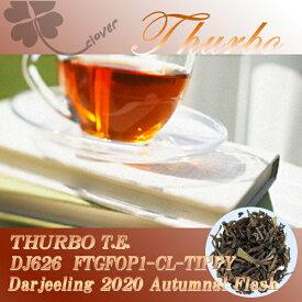 インド紅茶:2019年ダージリンオータムナル秋摘キャッスルトン茶園 DJ523 FTGFOP1-CL-TIPPY(100g)【メール便:送料無料】