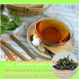 インド紅茶:2019年ダージリンファーストフラッシュ1番茶・キャッスルトン茶園DJ-19 CHINA-SPECIAL FTGFOP-1(50g)【送料無料:メール便】