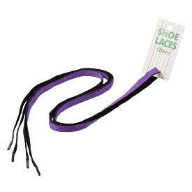 [ライカ] LEICA 65267 レディース・メンズ | 靴ひも | リバーシブル | シューアクセサリー | シューレース | パープル×ブラック SP