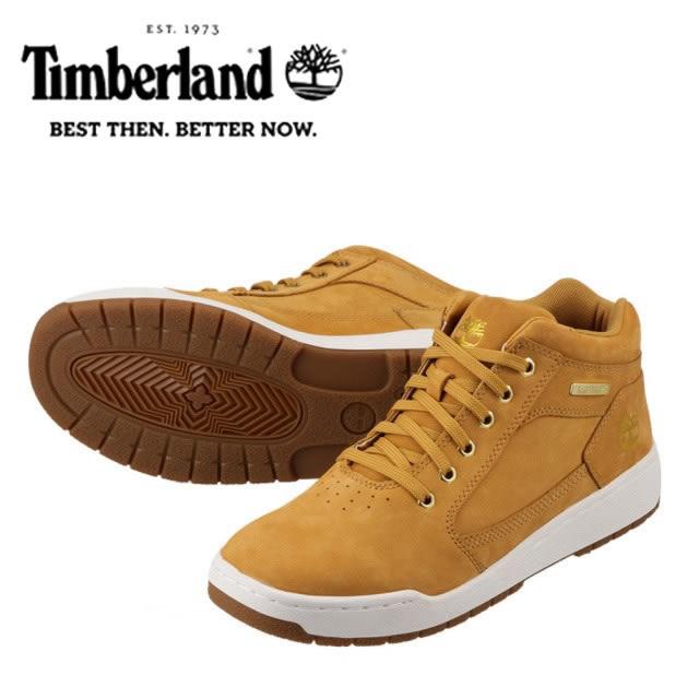 [ティンバーランド] Timberland TIMB A1HRZ メンズ | ハイカットスニーカー | Marge マージ | ブーツスニーカー | 大きいサイズ対応 28.0cm | イエロー SP
