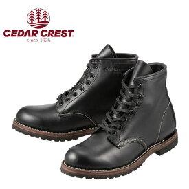[セダークレスト] CEDAR CREST CC-1538 メンズ | クラシックスタイルブーツ | ショートブーツ | グッドイヤーウェルト製法 | 大きいサイズ対応 28.0cm | ブラック SP