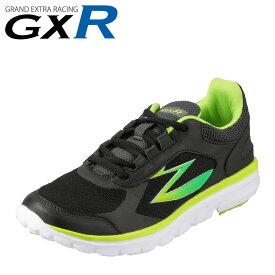 ジーエックスアール GXR スニーカー GXR-C001 キッズ 靴 シューズ 2E相当 キッズスニーカー ジュニアスニーカー 軽量 運動靴 子供靴 男の子 スポーツ 体育 運動会 動きやすい 歩きやすい ブラック SP