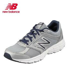 ニューバランス new balance スニーカー M460LC22E メンズ靴 靴 シューズ 2E相当 ランニングシューズ ローカットスニーカー スポーツ ジム カジュアル 大きいサイズ対応 28.0cm 28.5cm 29.0cm シルバー×ネイビー SP