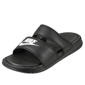ナイキ NIKE サンダル 819717-010 レディース靴 靴 シューズ シャワーサンダル 軽量 ベナッシ デュオ ウルトラスライド スポサン スポーツサンダル フラット 歩きやすい 人気 ブラック SP