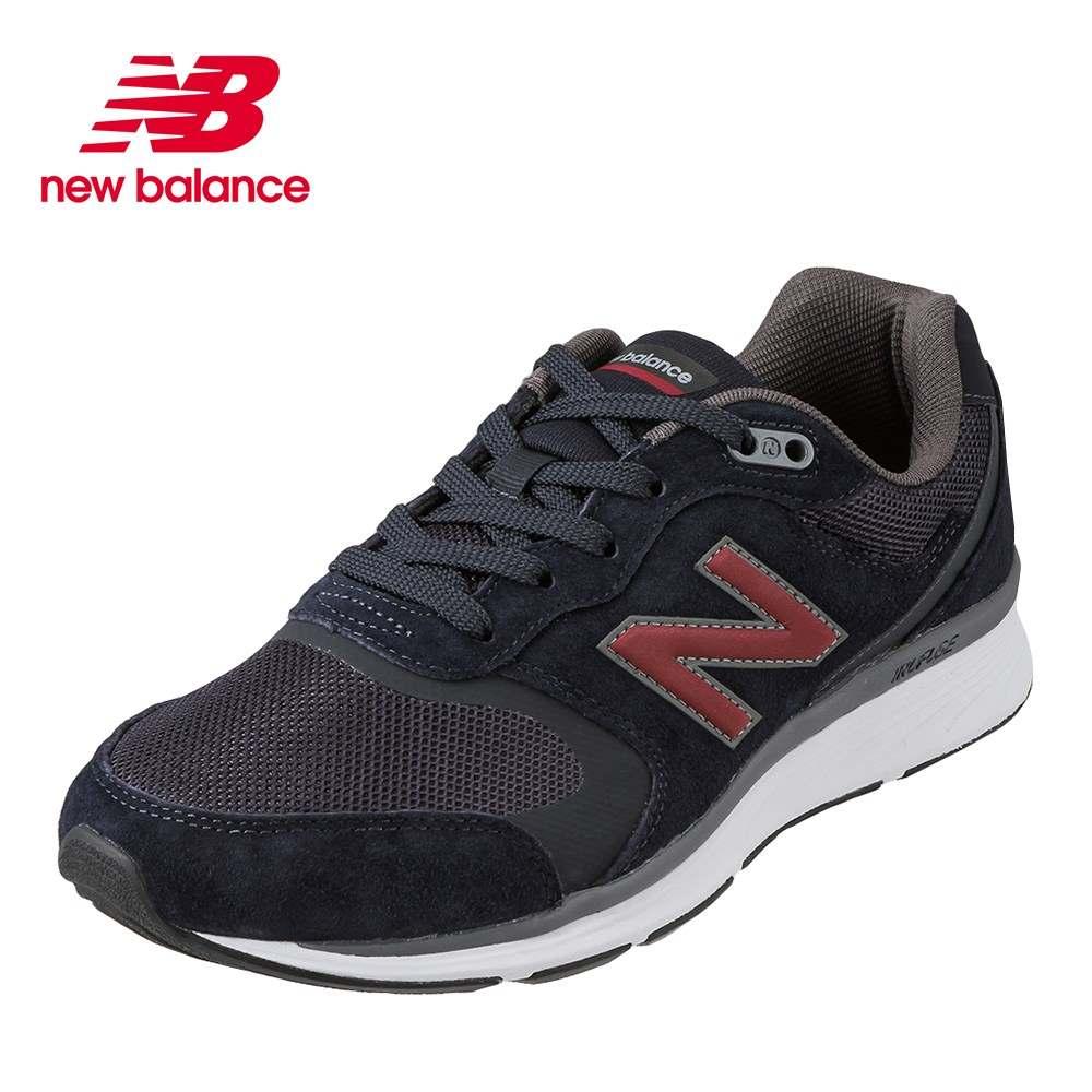 ニューバランス new balance スニーカー MW880NV44E メンズ靴 靴 シューズ 4E相当 ローカットスニーカー 本革 クッション性 人気デザイン ファッション おしゃれ カジュアル 大きいサイズ対応 28.0cm ネイビー×レッド SP