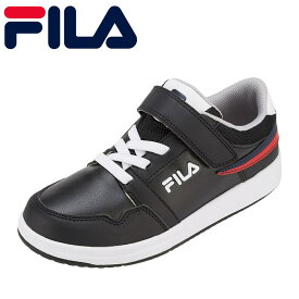 フィラ FILA スニーカー FC-4204J キッズ靴 靴 シューズ 3E相当 ローカットスニーカー カジュアルスニーカー 子ども 男の子 Saltare 通学 学校 ブランド 人気 おしゃれ 履きやすい 歩きやすい ブラック SP