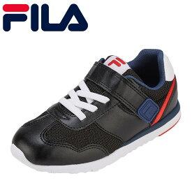フィラ FILA スニーカー FC-5214J キッズ靴 靴 シューズ 3E相当 ローカットスニーカー カジュアルスニーカー 子ども 男の子 Crescita 通学 学校 ブランド 人気 おしゃれ 履きやすい 歩きやすい ブラック SP