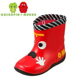 ガチャピンアンドムック ガチャピン&ムック 長靴・レインシューズ GM5006 ベビー 靴 靴 シューズ 2E相当 子ども 男の子 女の子 レインブーツ 長靴 雨靴 ショートブーツ ムック 人気 プレゼント ギフト レッド SP