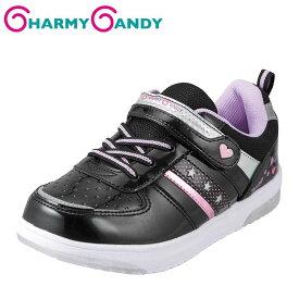 チャーミーキャンディ CHARMY CANDY スニーカー CCJ-1000 キッズ 靴 靴 シューズ 2E相当 ローカットスニーカー 光る靴 子ども 女の子 カジュアル ハート かわいい おしゃれ ブラック SP