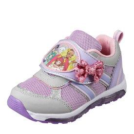 スタートゥインクルプリキュア スタートゥインクルプリキュア SP7505K キッズ靴 光る靴 女の子 キャラクターシューズ プリキュア 人気 リボン カワイイ パープル SP
