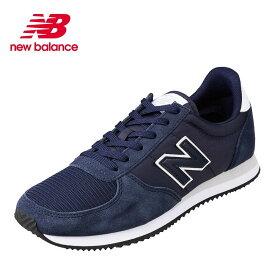 ニューバランス new balance U220FJD メンズ靴 D メンズ スニーカー コンビ素材 220 シリーズ 大きいサイズ対応 VINTAGE INDIGO SP