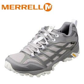 メレル MERRELL 598191 メンズ靴 2E相当 アウトドアシューズ ビブラムソール 滑りにくい 人気ブランド 大きいサイズ対応 シルバー SP