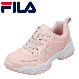 フィラ FILA FC-5901J キッズ靴 :3E スニーカー 軽量 軽い ストラーダ 厚底 ソール ピンク SP