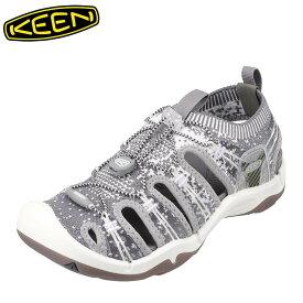 キーン KEEN 1021402 レディース靴 靴 シューズ 2E相当 サンダル ニット EVOFIT 大きいサイズ対応 グレー SP