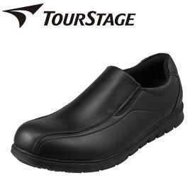 ツアーステージ TOURSTAGE TS-19002 メンズ靴 靴 シューズ 3E相当 カジュアルシューズ 軽量 軽い ストレッチ性 フィット 小さいサイズ対応 大きいサイズ対応 ブラック SP