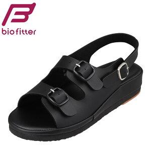 バイオフィッター ナース Bio Fitter BFN-25071 レディース靴 靴 シューズ 3E相当 サンダル ナースサンダル 看護用 仕事用 フィット性 クッション性 疲れにくい 快適 ブラック SP