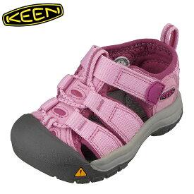キーン KEEN 1012273 キッズ靴 ベビー靴 靴 シューズ 2E相当 サンダル 軽量設計 NEWPORT H2 T ニューポート ピンク SP