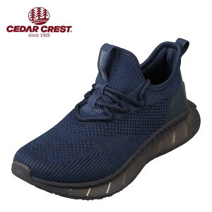 セダークレスト CEDAR CREST CC-9367 メンズ靴 靴 シューズ 2E相当 スポーツシューズ 透湿 防水 軽量 軽い 小さいサイズ対応 大きいサイズ対応 ネイビー SP