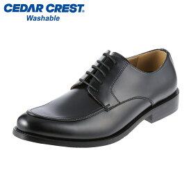 [セダークレスト ウォッシャブル] CEDAR CREST CC-1312 メンズ | トラッドシューズ ビジネスシューズ | ブランド 人気 | ブラック SP