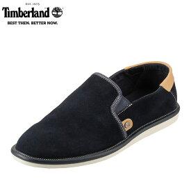 [ティンバーランド] Timberland TIMB A12LG メンズ | カジュアルシューズ | スリッポン シンプル | 高機能 アウトドア | ブランド 人気 | ネイビー SP