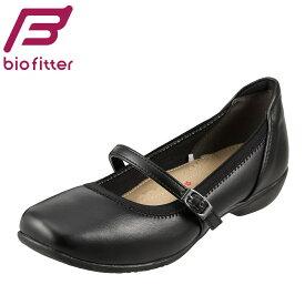[バイオフィッター キレイウォーク] Bio Fitter BFL-13100 レディース | パンプス | 仕事 通勤 | ストラップ パンプス 黒 | ローヒール パンプス 黒 | ラウンドトゥ パンプス | 大きいサイズ対応 25.0cm 25.5cm 26.0cm | ブラック SP