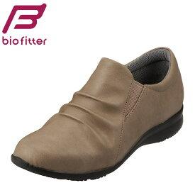 [バイオフィッター レディース] Bio FitterBFL2735 レディース | スリッポン | カジュアルシューズ フラットソール | 軽量 抗菌 防臭 | 大きいサイズ対応 25.0cm | オーク SP