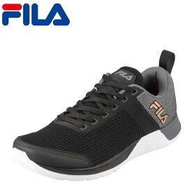 フィラ FILA スニーカー FTR-109 FXT CROSS53 メンズ靴 靴 シューズ 3E ランニングシューズ スポーツ スニーカー ローカット メンズスニーカー ウォーキング ジョギング ジム カジュアル スポーティ おしゃれ 大きいサイズ対応 28.0cm 29.0cm ブラック SP