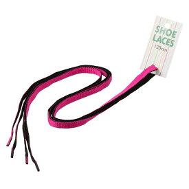 [ライカ] LEICA 65266 レディース・メンズ   靴ひも   リバーシブル   シューアクセサリー   シューレース   ピンク×ブラック TSRC